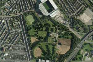 Aerial image of Aston