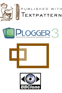 Logos for various software used on site