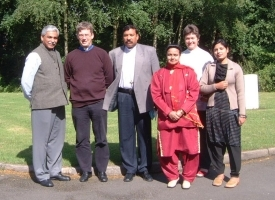 Christians from Peshawar in India visit Aston Parish Church